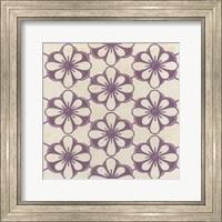 Framed Floral Trellis VI