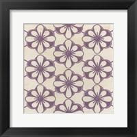 Floral Trellis VI Framed Print