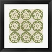 Framed Floral Trellis VII