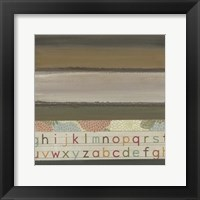 Framed Alphabet II