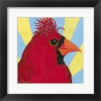 Framed You Silly Bird - Mo