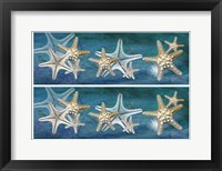 Framed 2-Up Starfish