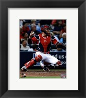 Framed Brian McCann 2013 Action
