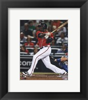 Framed Justin Upton 2013 Action