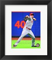 Framed Jay Bruce 2013 Cincinnati Reds