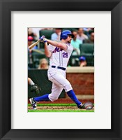 Framed Daniel Murphy 2013 Action