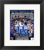 Framed University of Kentucky Wildcats All Time Greats Composite