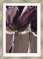 Framed Aubergine Splendor II