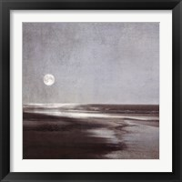 Framed Moonlit Beach
