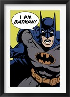 Framed Batman - I Am Batman