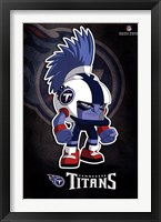 Framed Tennessee Titans - Rusher 13