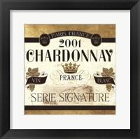 Framed Wine Labels II