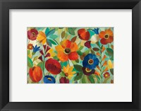 Framed Summer Floral V