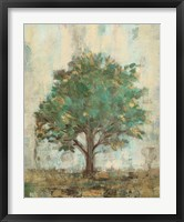 Framed Verdi Trees I