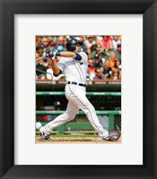 Framed Alex Avila batting 2013