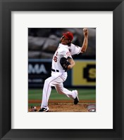 Framed Jered Weaver 2013 Pitching