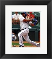Framed Elvis Andrus 2013 Batting