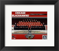 Framed Chicago Blackhawks 2013 NHL Stanley Cup Champions