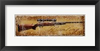 Hunting Rifle Framed Print