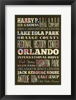 Framed Orlando II