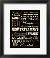 Framed New Testament