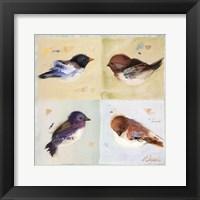 Framed Birds I