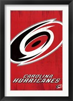 Framed Carolina Hurricanes® - Logo 13