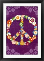 Framed Peace Sign 2013