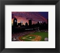 Framed Busch Stadium 2013