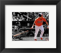 Framed Chris Davis 2013 Spotlight Action