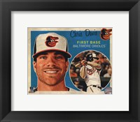 Framed Chris Davis 2013 Studio Plus
