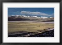 Framed Lac BlancSal de Tso Kar