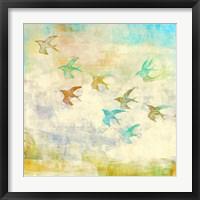 Framed Oiseaux 1