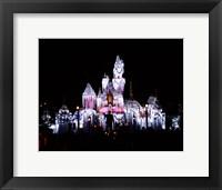 Framed Sleeping Beauty's Castle