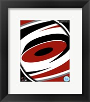 Framed Carolina Hurricanes 2013 Team Logo