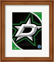 Framed Dallas Stars 2013 Team Logo