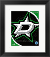 Framed Dallas Stars 2013 Team Logo