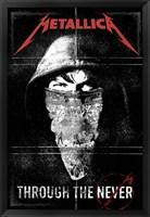 Framed Metallica - Through the Never