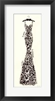 Couture Noir Original II Framed Print