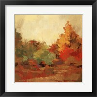 Framed Fall Forest II