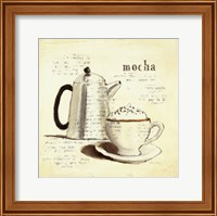 Framed Parisian Coffee I