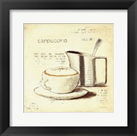Parisian Coffee IV Framed Print