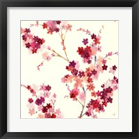 Apple Blossoms Crop II Framed Print