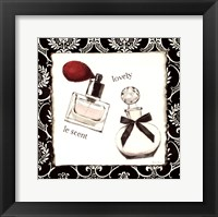 Cosmetique I Framed Print