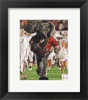 Framed University of Alabama Crimson Tide Mascot