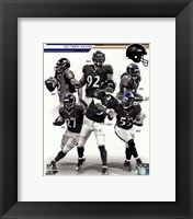 Framed Baltimore Ravens 2013 Team Composite