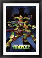 Framed Teenage Mutant Ninja Turtles - Assemble