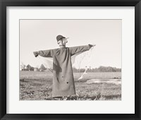 Framed Scarecrow, North Carolina