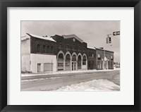 Framed Buick Motor Company & Greensboro Motor Company Guilford County, NC 1979