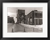 Framed Buick Motor Company & Greensboro Motor Company Guilford County, NC 1979 photography